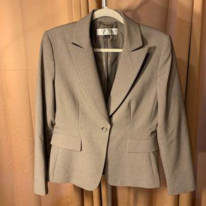 Gray Tahari Blazer Size 8